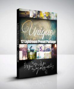 Produktbox Lightroom Presets Unique Pack