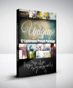 Produktbox Lightroom Presets Unique Pack