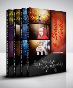 Produktbox Photoshop Set 4 Seasons Komplett Bundle