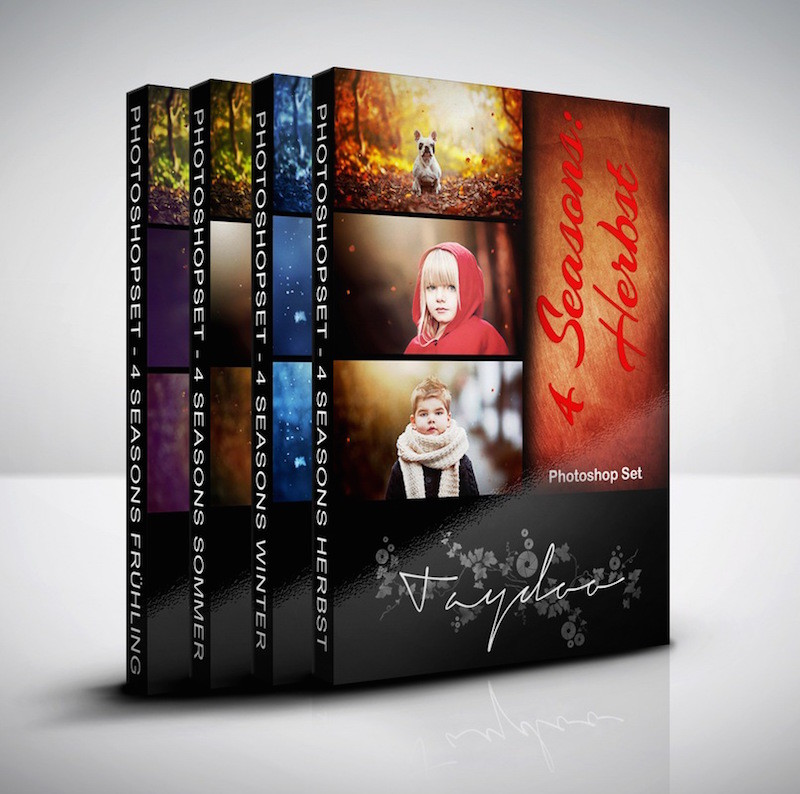 Produktbox Photoshop Set 4 Seasons Komplett Bundle