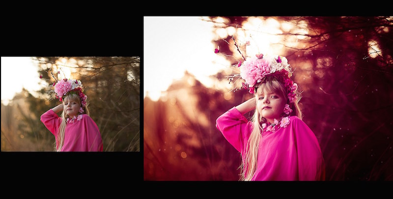 Vorschau Photoshop Set Fairytale