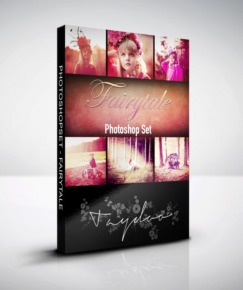 Produktbox Photoshop Set Fairytale