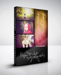Produktbox Photoshop Set Frühling – 4 Seasons