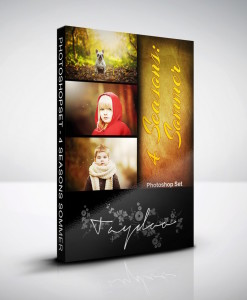 Produktbox Photoshop Set Sommer – 4 Seasons