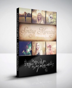 Produktbox Photoshop Set – Spring Morning