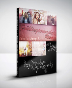Produktbox Photoshop Set – Frühlingserwachen Rosa