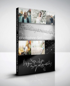 Produktbox Photoshop Set – Frühlingserwachen Weiß