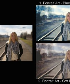 Vorschau Lightroom Presets Portrait Art