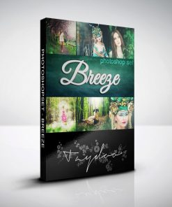 Produktbox Photoshop Set – Breeze