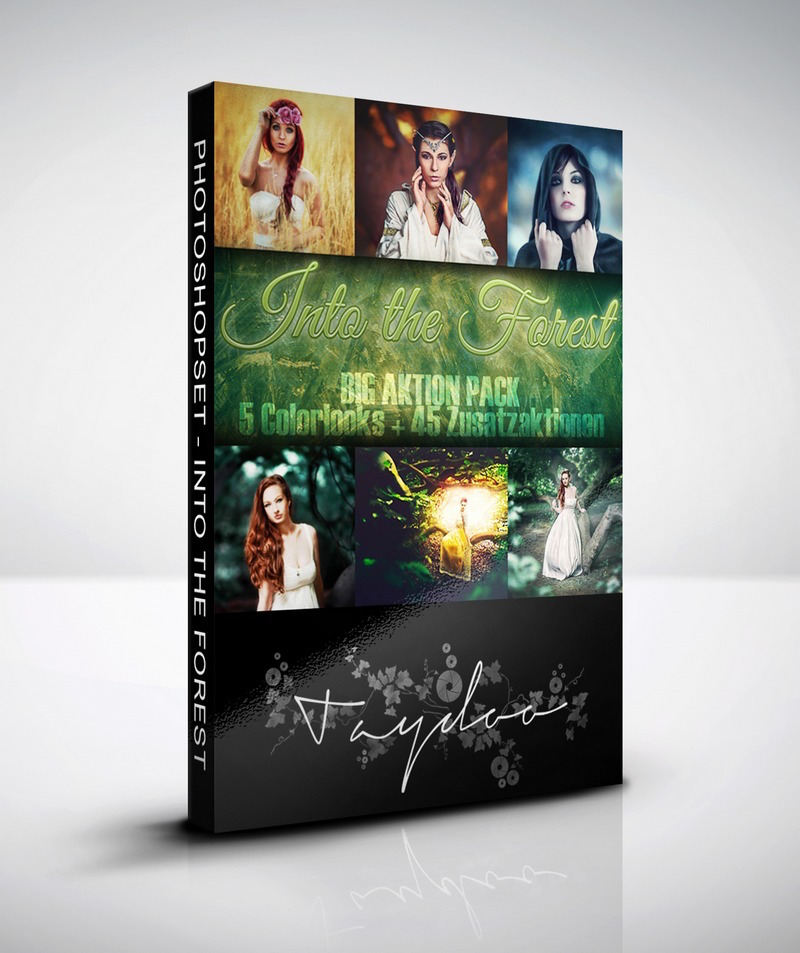 Produktbox Photoshop Big Aktion Paket – Into the Forest