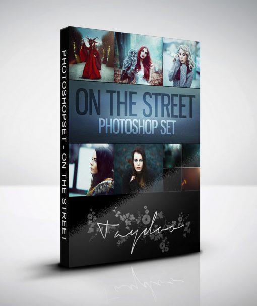 Produktbox Photoshop Set – On the Street