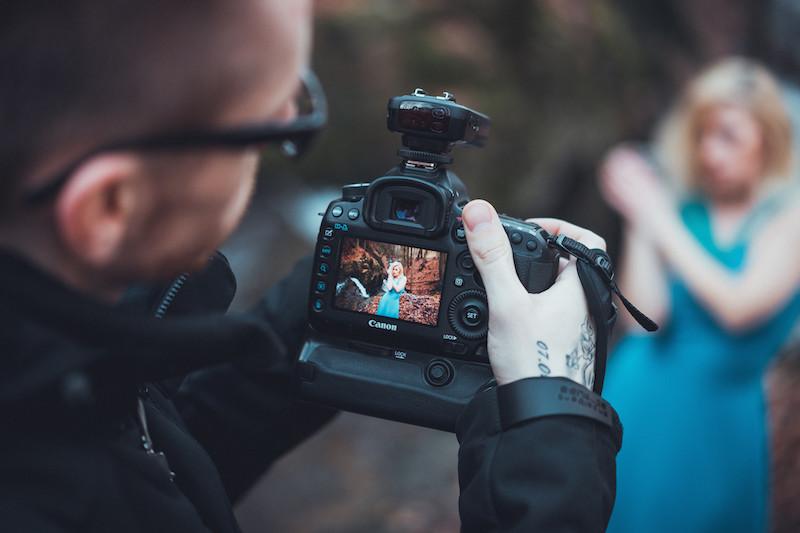 Vorschaubild auf der Canon 5d Mark III