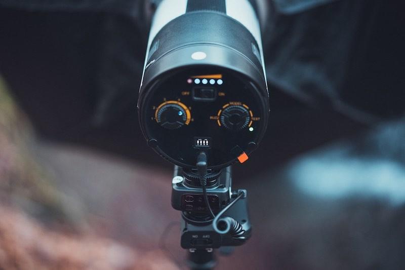 Blitz Photarex PB-600 Einstellmöglichkeiten
