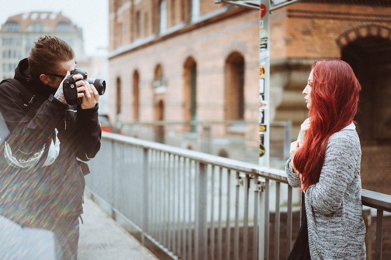Taydoo und La Sarita beim fotografieren