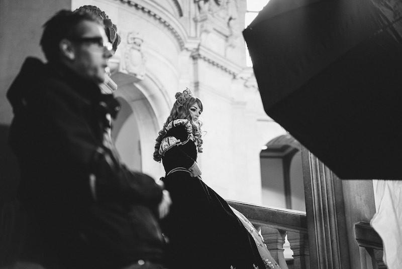 Making Off Anastasia Shooting im Rathaus Hannover