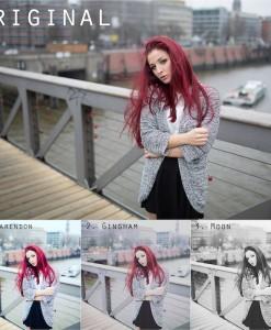 Vorschau Instagram Presets 1 bis 3