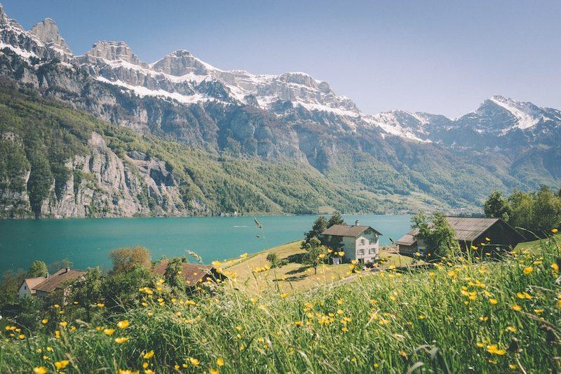 Wallensee in der Schweiz