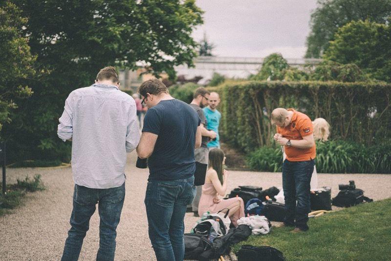 Shooting Berggarten Hannover pause