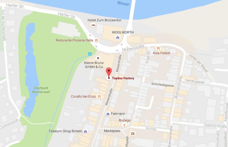 Taydoo Factory Karte