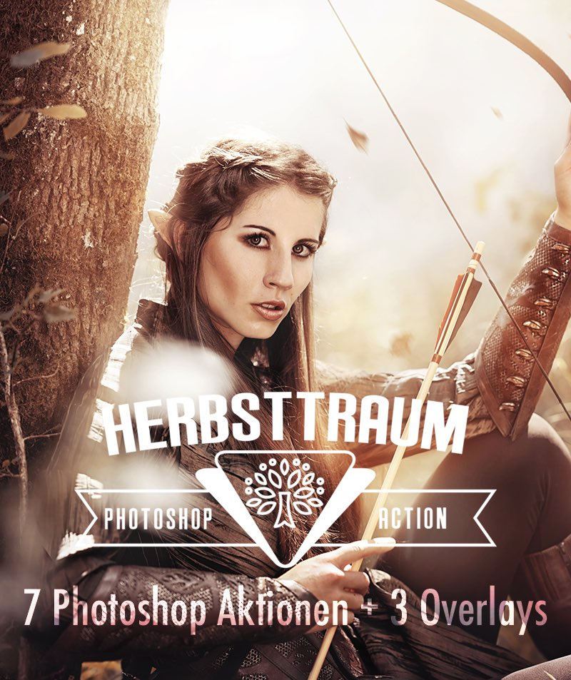 Photoshop Aktion Herbstraum Produktbild 1