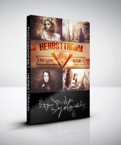 Photoshop Aktion Herbstraum Cover