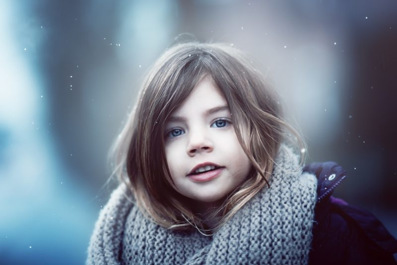 Wintertraum Photoshop Aktion Set - 4 Overlays inkl. - nachher-4