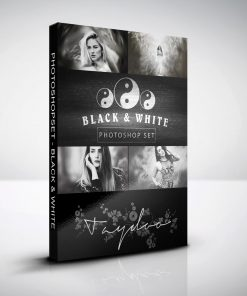 black & white box