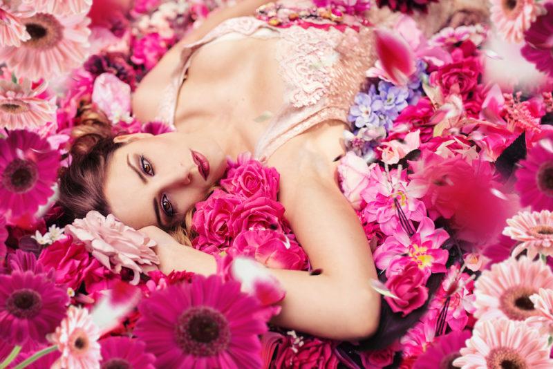 873 Blumen-Overlays für Bildbearbeitung- Taydoos Flower Power Frühling Nachher2