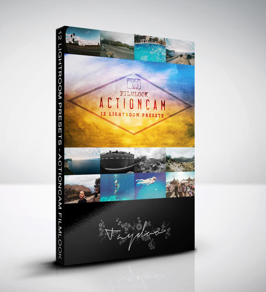 Actioncam Filmlook 12 Lightroom Presets Taydoo