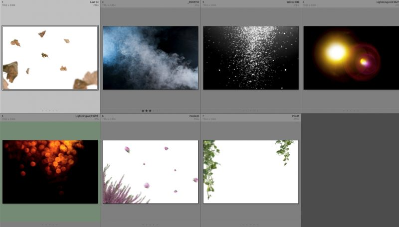 Collage-Overlays